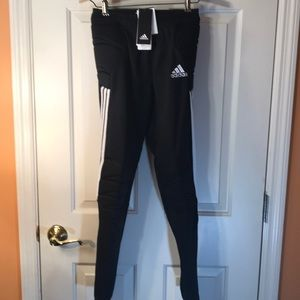 Brand new youth large adidas soccer pants with pad